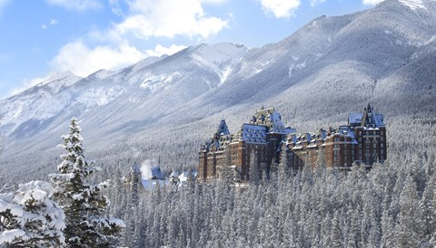 Fairmont Banff Springs Christmas