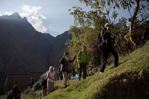 Trekking the Inca Trail