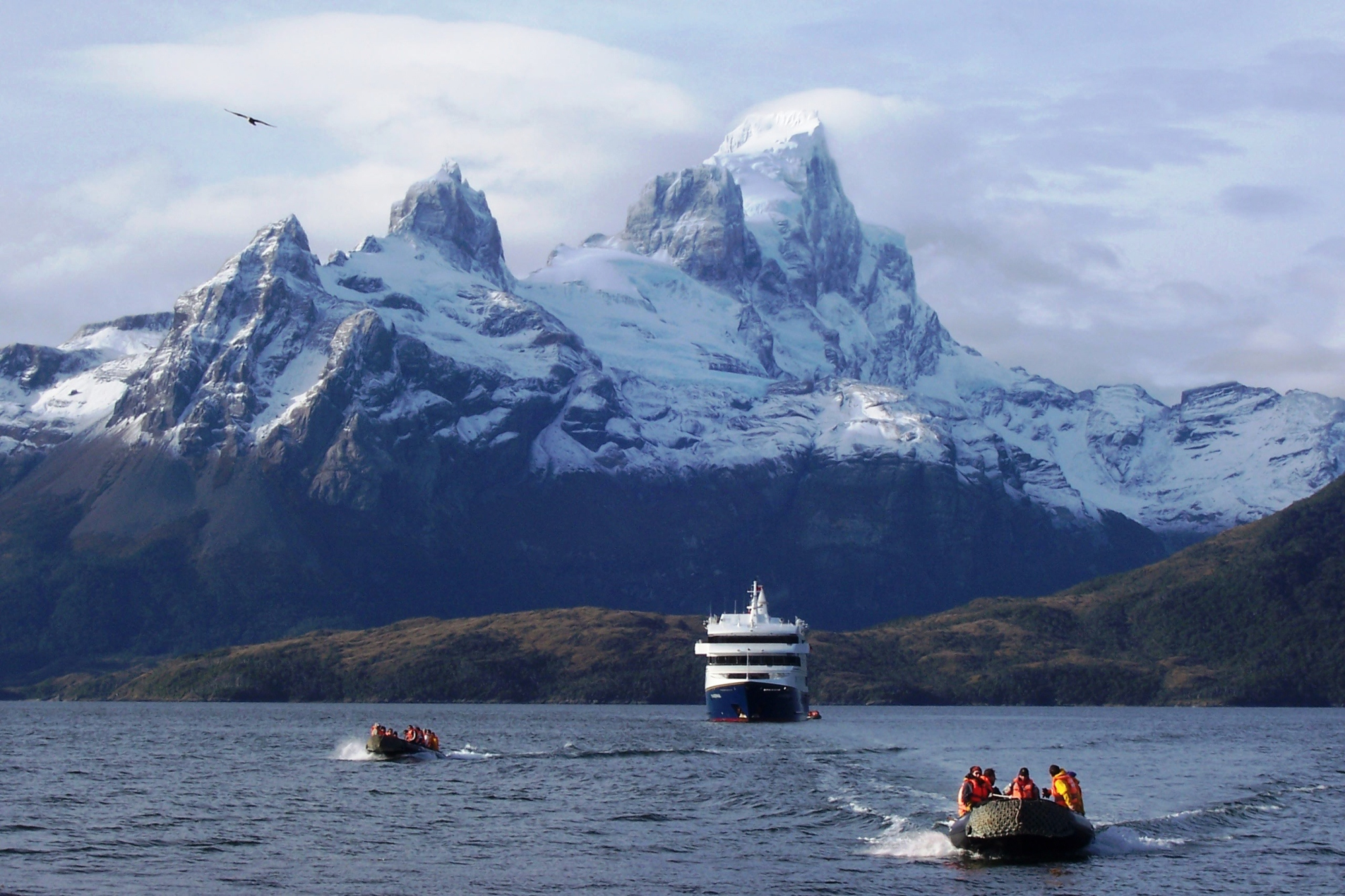 how to get to patagonia south america
