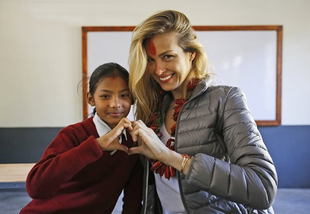 Happy Hearts Fund Petra Nemcova